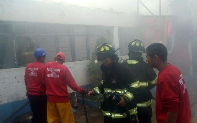 Se incendia almacén de Secretaría de Salud en Guerrero - incendio secretaria salud