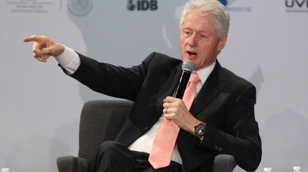 Clinton se disculpa con México por narcotráfico - Bill Clinton