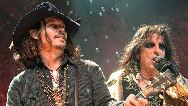 Johnny Depp se une a banda de rock - deep cooper