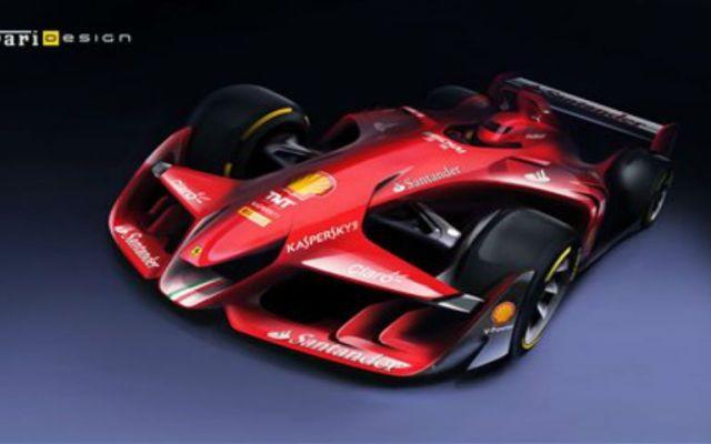 Ferrari comienza a cotizarse en Wall Street - Ferrari adelanta su coche del futuro