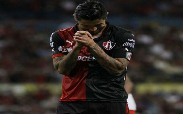 Negro debut del Atlas en Libertadores - atlas pierde con independiente de santa fe_ligamx