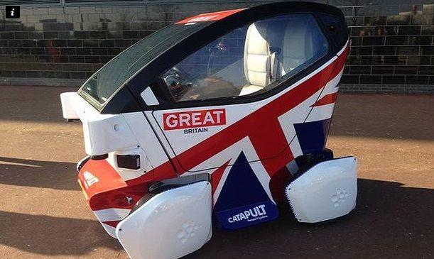 Gran Bretaña inicia pruebas de autos sin chofer - auto sin chofer