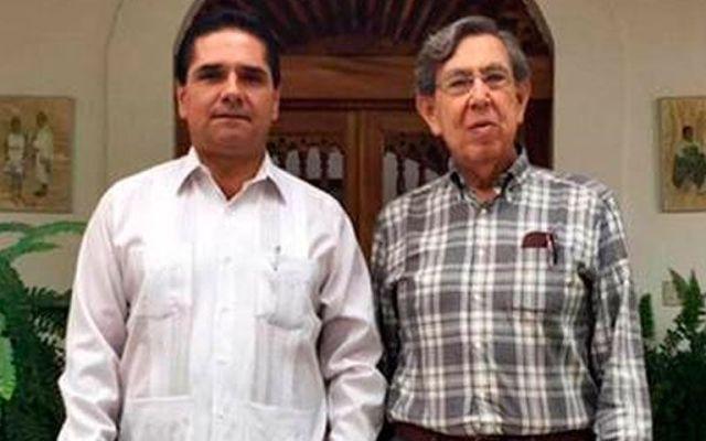 Se reúnen Aureoles y Cárdenas en Michoacán - Se reúnen Aureoles y Cuauhtémoc Cárdenas en Michoacán