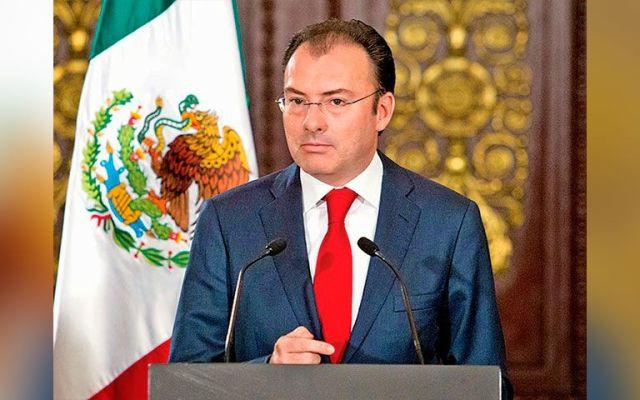 Garantiza Videgaray orden y liquidez de los mercados financieros - Luis Videgaray