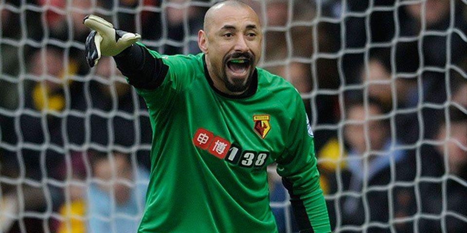 Watford y Layún obtienen difícil victoria - Heurelho Gómes, portero del Watford