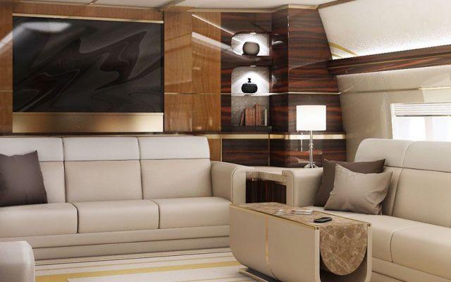 Boeing 747-8 transformado en lujoso jet privado - Boeing 787-8 transformado en lujoso jet privado