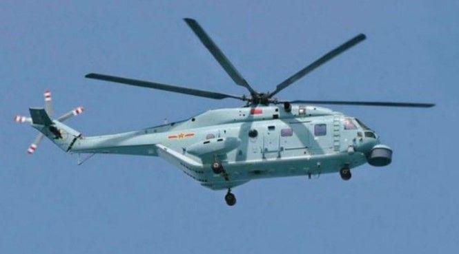 China sobrevuela el Everest con un helicóptero - Helicóptero Changhe Z-18