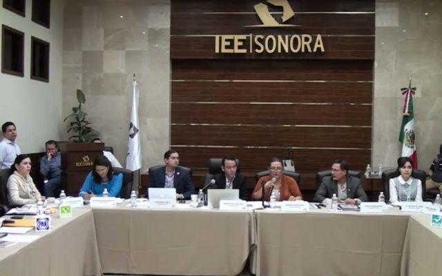 Pelea entre el PT y el PAN en IEE Sonora - Instituto Electoral de Sonora