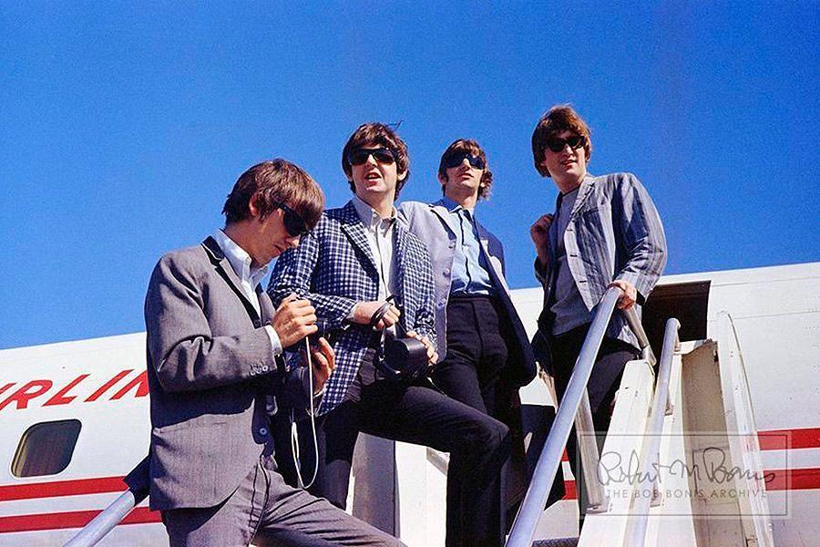 A la venta fotos desconocidas de los Beatles en eBay - Foto de Bob Bonis