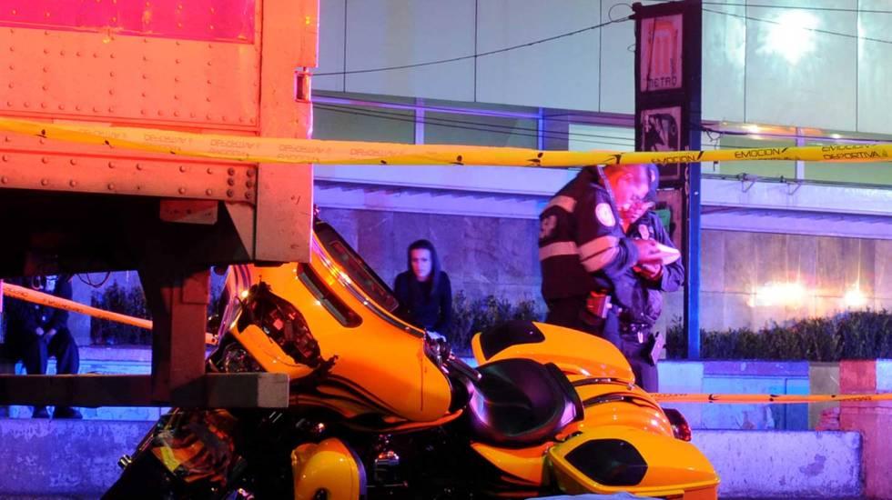 Muere un motociclista en la Roma - Foto de Excélsior