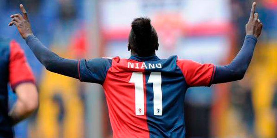 Sin Márquez, Hellas Verona es goleado - Niang marcó dos goles con el Genoa ante el Hellas Verona