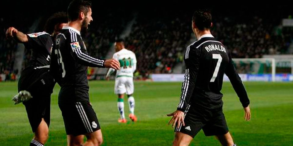 Cristiano rompe mala racha y gana el Madrid - Cristiano rompe su sequía y gana el Madrid