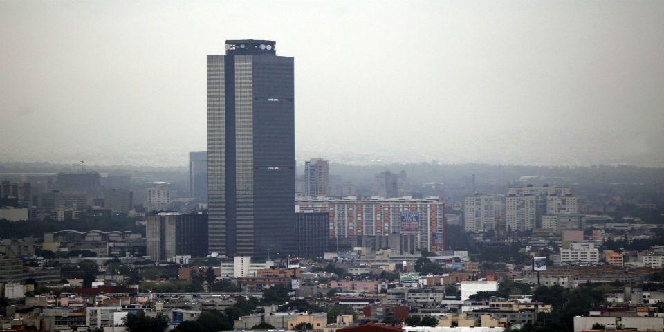 Falsa amenaza de bomba en Torre de Pemex - Torre de Pemex