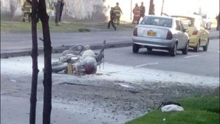 Atentado en Bogotá deja siete heridos - atentado colombia