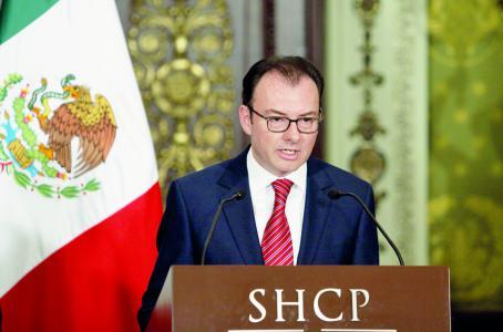 México está creciendo más que EE.UU. y América Latina: Videgaray - Luis videgaray