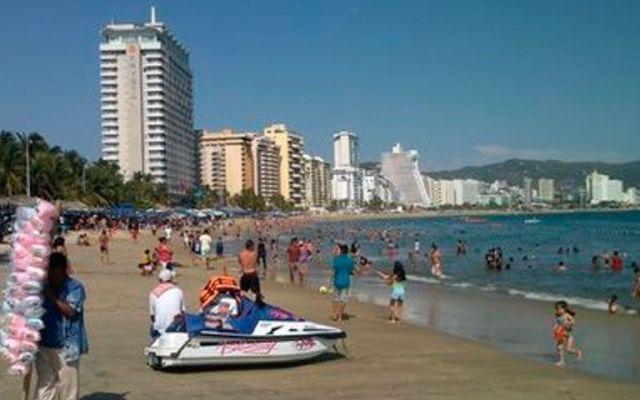 Reportado 74.2% de ocupación hotelera en Acapulco - Acapulco