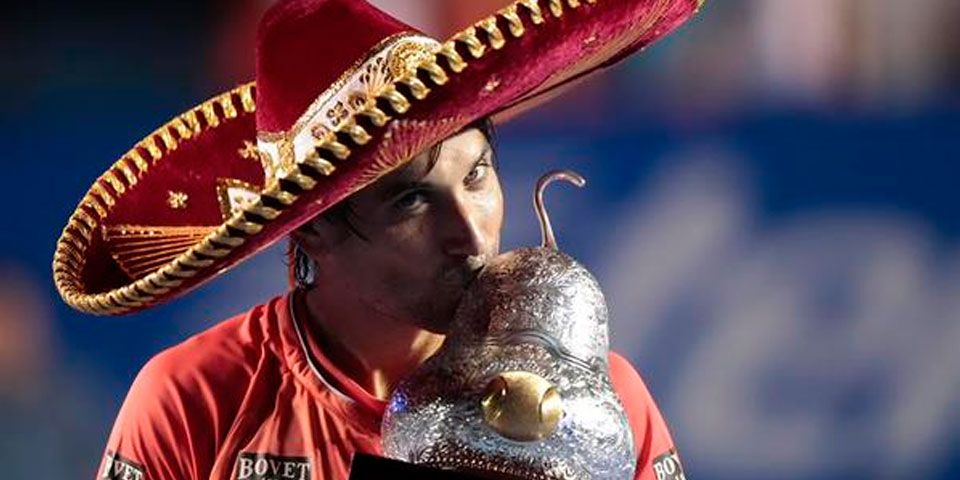 David Ferrer gana Abierto Mexicano - David Ferrer gana Abierto Mexicano de Tenis