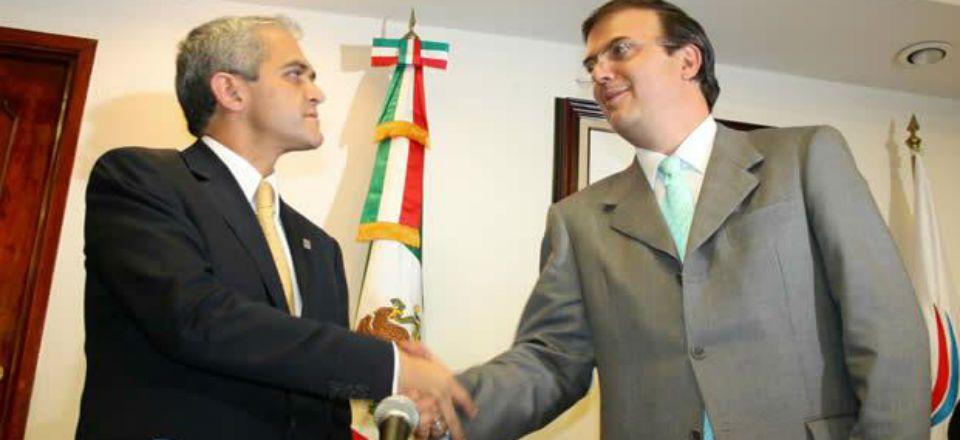 Yo no veté la candidatura de Ebrard en el PRD: Mancera
