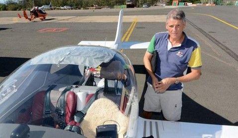 Se cae aeronave de empresario - Eric Gouillord