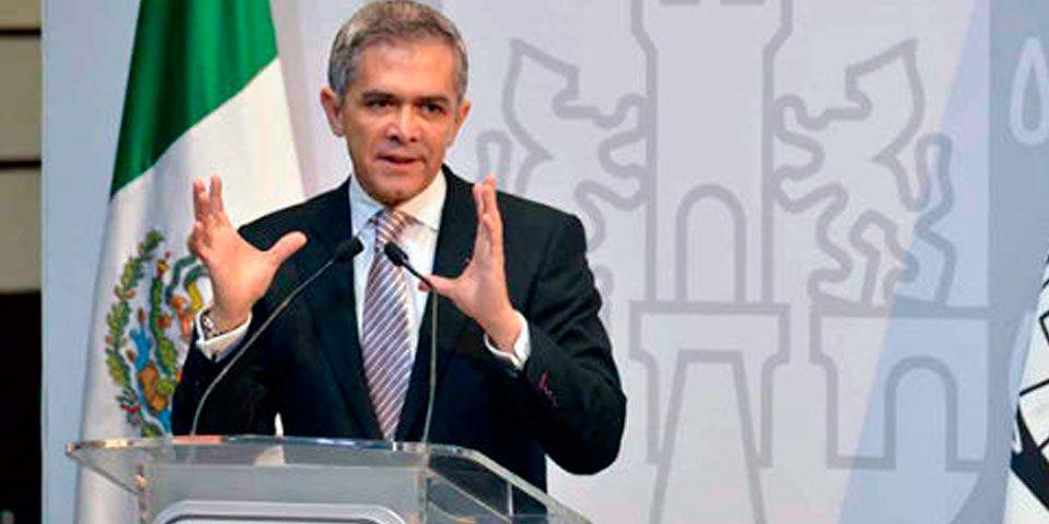 Plan de desarrollo urbano será la prioridad: Mancera - Miguel Ángel Mancera, jefe de Gobierno del DF