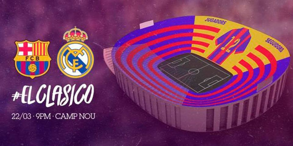 Barcelona desplegará mosaico para el Clásico - Barcelona desplegará mosaico para el Clásico