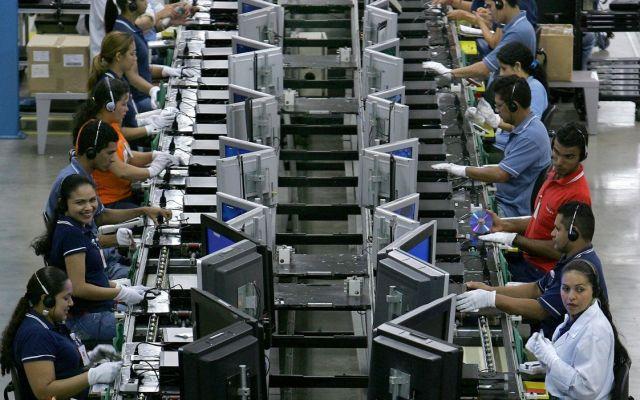 Crece 0.8 por ciento la producción industrial - Industria manufacturera