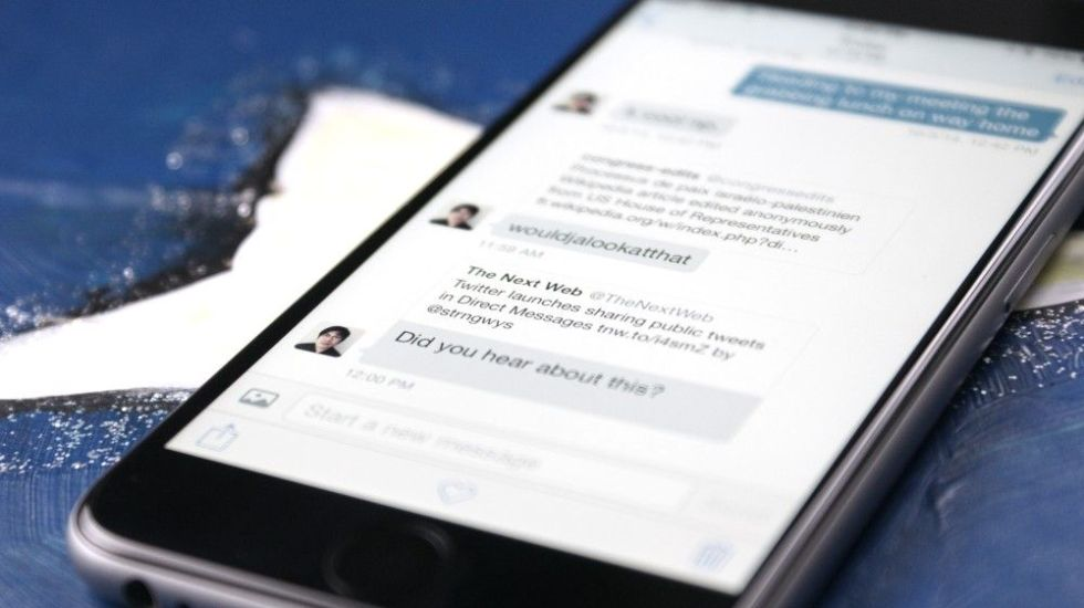 Twitter permite enviar o recibir mensajes privados de cualquier usuario - twitter