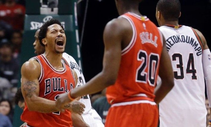 Bulls dan cornada mortal a Bucks - Bulls dan cornada mortal a Bucks