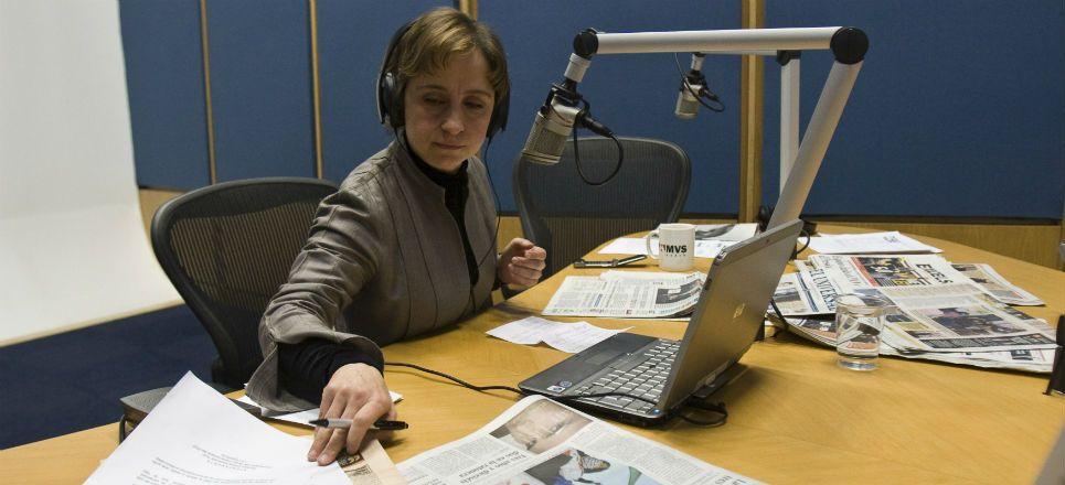 Juez ordena reunión MVS-Aristegui - Carmen Aristegui