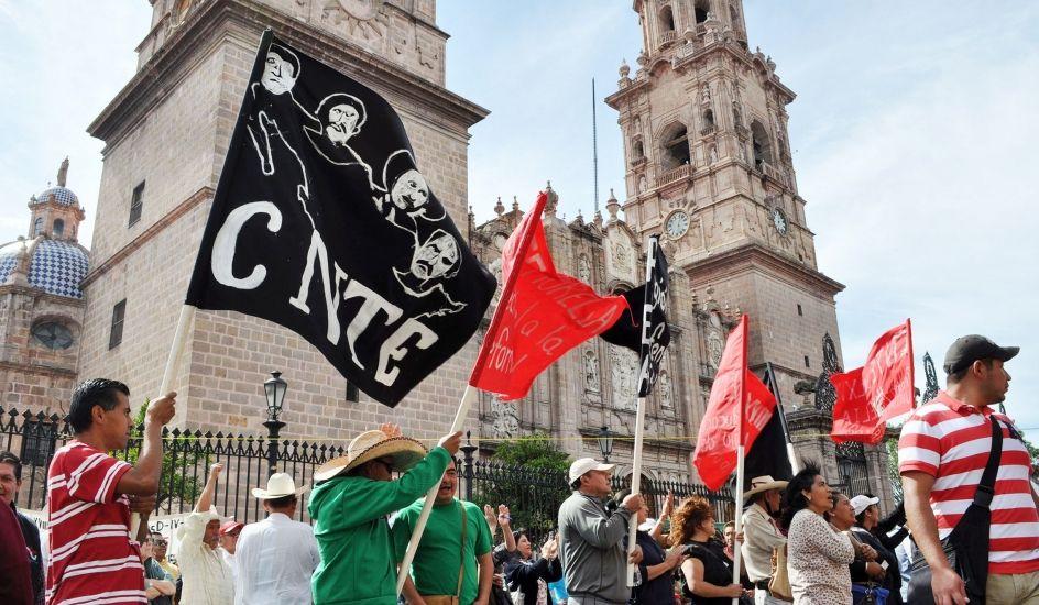 CNTE en Michoacán