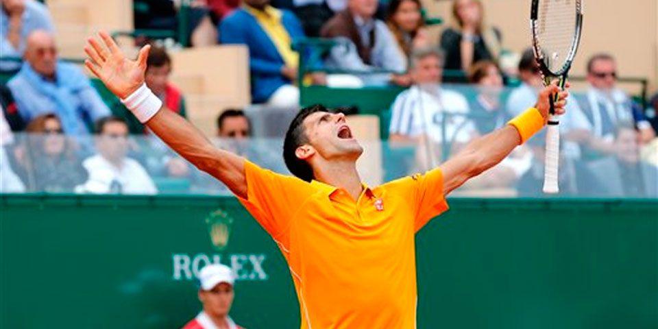 Djokovic derrotó a Nadal en Montecarlo - Djokovic derrota a Nadal en Montecarlo