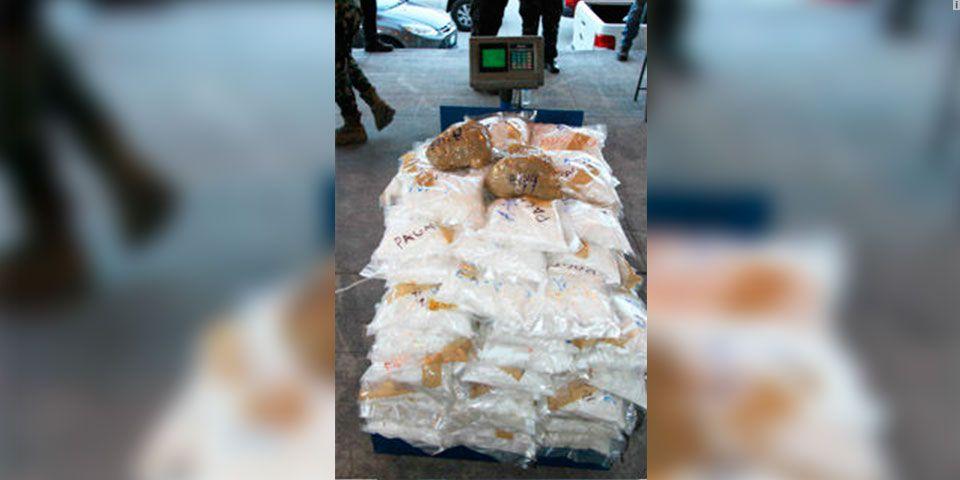 Aseguran más de 150 kilos de metanfetamina en Manzanillo - Metanfetaminas