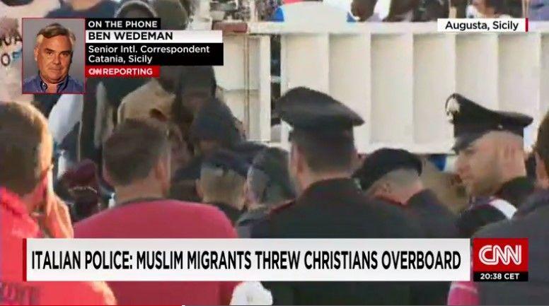 Migrantes musulmanes ahogan a 12 cristianos - Migrantes musulmanes ahogan a 12 cristianos