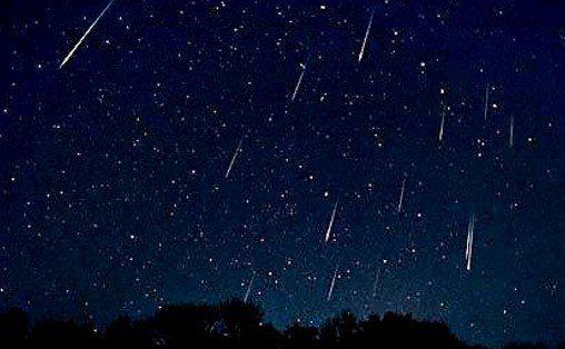 Hoy habrá lluvia de estrellas - Habrá lluvia de estrellas en México