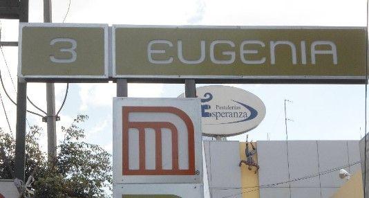 Muere mujer en las vías del Metro de la CDMX - Metro Eugenia