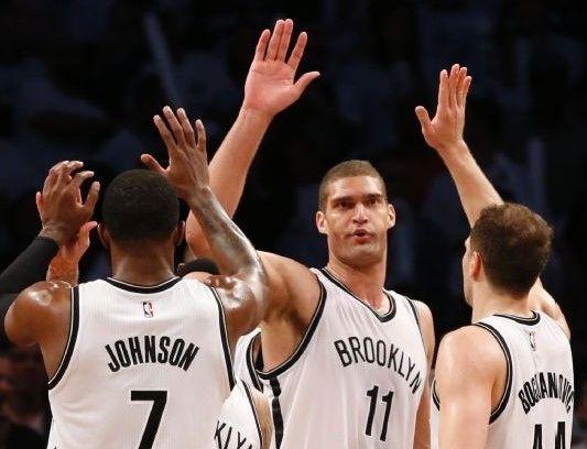 Nets empatan la serie ante Atlanta - Nets empatan la serie ante Atlanta