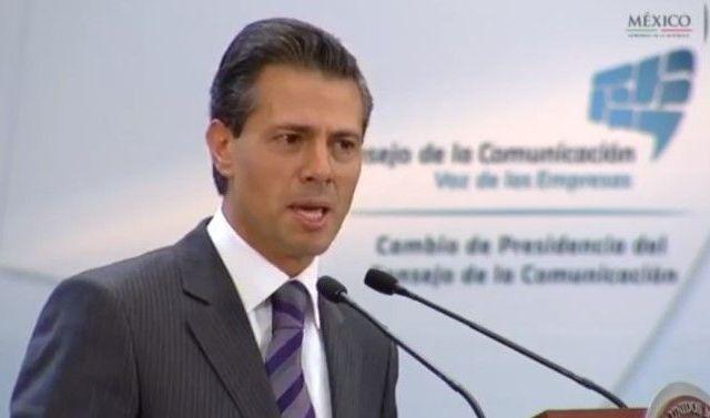 EPN refrenda su compromiso con la libertad de expresión - Peña Nieto en el Consejo de la Comunicación