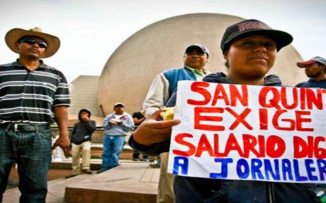 Termina sin acuerdos negociación en San Quintín - Jornaleros de San Quintín