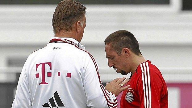 Van Gaal era un mal hombre: Ribéry - \