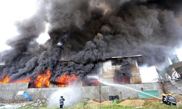 Incendio deja al menos 30 muertos en Filipinas