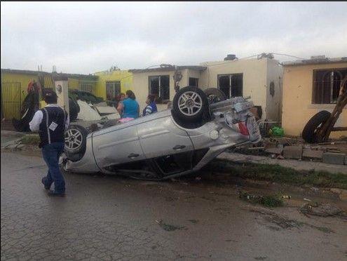 Alerta de tornados en NL, Tamaulipas y Coahuila - Luis Felipe Puente dijo que la mayoría de las viviendas dañadas están aseguradas. Foto de @_priscilalara