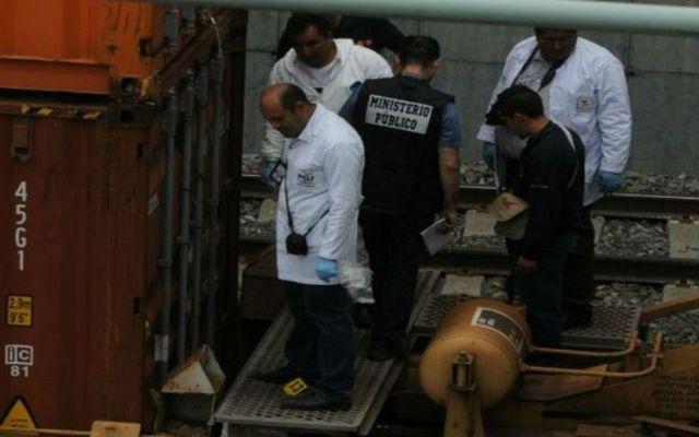Identifican cuerpos encontrados en trenes - Foto de El Universal.