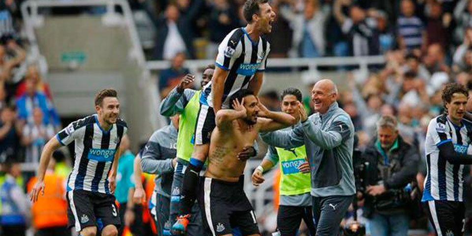 Jonás Gutiérrez salva al Newcastle - Foto de @SoccerSt_