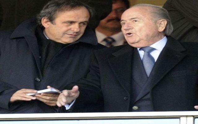 Blatter restaría credibilidad a la FIFA: Platini - Foto de La Nación