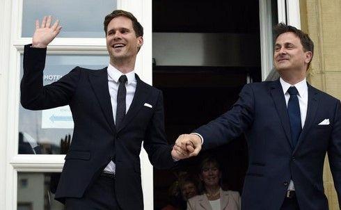 Primer ministro de Luxemburgo se casa con su novio - Foto de Internet