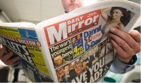 Daily Mirror pagará casi 2 mdd a celebridades por espionaje