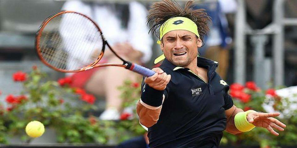 David Ferrer avanza a semifinales de Roma - Foto de EFE.