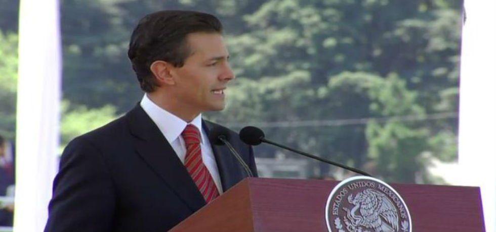 EPN hace votos para que prevalezca la paz en Colombia - Enrique Peña Nieto, presidente de México