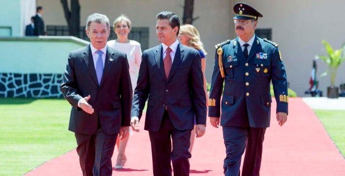 México y Colombia crean Comité Estratégico bilateral - EPN y Juan Manuel Santos