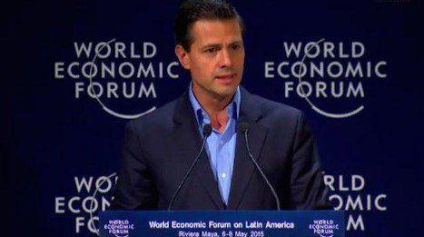 EPN reconoce importancia de candidaturas independientes - EPN en el Foro Económico de América Latina